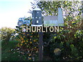 TM4198 : Thurlton Village Sign by Adrian Cable
