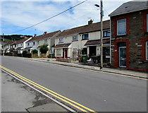 ST1888 : Navigation Street semis, Trethomas by Jaggery
