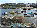 SH3793 : The harbour at Cemaes, Anglesey by Robin Drayton