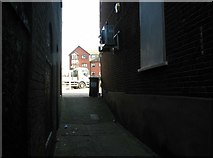 TG5207 : Great Yarmouth's Rows - Row 107 (Post House Row) by Evelyn Simak