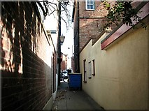 TG5207 : Great Yarmouth's Rows - Row 109 (Red Lion Row) by Evelyn Simak