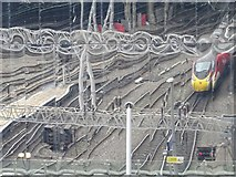SP0786 : Reflections on New Street Station by Philip Halling