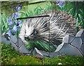 NS5965 : Hedgehog mural by Richard Sutcliffe