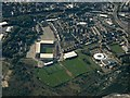 SE3506 : Oakwell Stadium from the air by Thomas Nugent