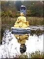 NY2499 : Nagarjuna statue at Samyé-Ling Tibetan Centre by Oliver Dixon