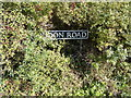 TM4198 : Loddon Road sign by Adrian Cable