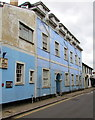 ST3490 : Blue building in High Street, Caerleon by Jaggery