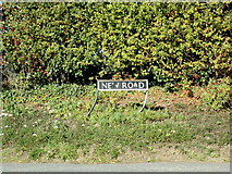 TM4098 : New Road sign by Adrian Cable