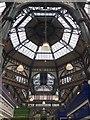 SE3033 : Leeds Kirkgate Market - Interior Roof Detail by David Robinson