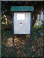 TM4098 : St. Mary & St. Margaret's Church Notice Board by Adrian Cable