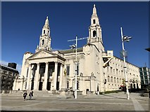 SE2934 : Leeds Civic Hall by David Robinson