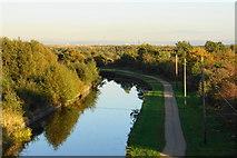 SJ6999 : The Bridgewater Canal from Morley's Bridge by Bill Boaden