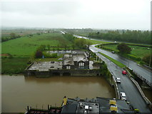 R4560 : View from the SE tower of the Castle, Bunratty by Humphrey Bolton
