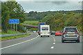 ST3857 : North Somerset : M5 Motorway by Lewis Clarke