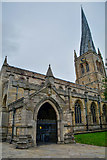SK3871 : Chesterfield : St Mary and All Saints Church by Lewis Clarke