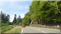 NM9348 : Sharp bend on A828 in Appin by Alpin Stewart
