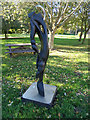 TM3674 : Sculpture on Walpole Green by Adrian Cable