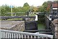 ST3090 : Malpas Lock at Bettws Lane Bridge by M J Roscoe