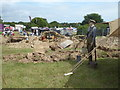 SX8955 : Torbay Steam Fair - WWI trench display by Chris Allen