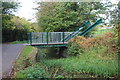 ST2990 : Bascule canal bridge, Malpas by M J Roscoe