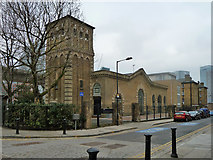 TQ3880 : East India Dock Pumping Station by Robin Webster