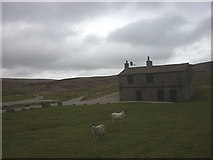 SE0270 : The shooting hut at Mossdale by Karl and Ali