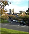 NU0501 : View towards the church by Gordon Hatton