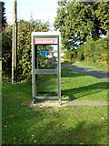 TL9125 : Telephone Box on New Road by Geographer