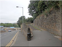 SE1537 : Footpath from Briggate up to Crag Road, Shipley by Stephen Armstrong
