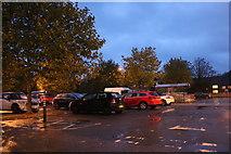 SU3988 : Sainsbury's car park, Wantage by David Howard