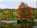 ST7733 : View from the Pantheon, Stourhead by Brian Robert Marshall