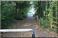ST2995 : National Cycle Route 49 towards a retail park by M J Roscoe