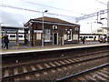 TL9123 : Station Building on Platform 2 by Adrian Cable