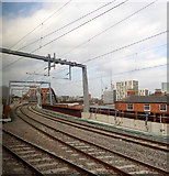 SJ8297 : The Ordsall Chord railway line by Thomas Nugent