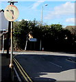 SS9184 : No Left Turn sign, Wigan Terrace, Bryncethin by Jaggery