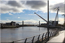 ST3188 : Bridges over the River Usk, Newport by M J Roscoe
