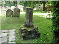 TF6932 : Old preaching cross in Ingoldisthorpe churchyard by Adrian S Pye
