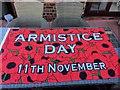 SH8076 : Armistice Day flag by Richard Hoare