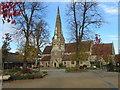 SP0781 : All Saints Church Kings Heath by Roy Hughes