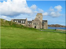 NM2824 : Iona Abbey by Andrew Wood