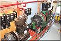SN2949 : Internal Fire Museum of Power - steam hall by Chris Allen