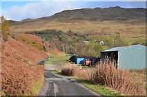 NN3528 : Road to Auchtertyre by Jim Barton