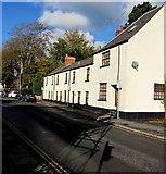 ST3390 : High Street houses, Caerleon by Jaggery