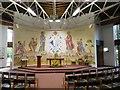 SD4857 : Inside the Roman Catholic chapel, Lancaster University by David Smith