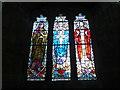 SO1533 : Window inside St. Gwendoline's Church (South Aisle   Talgarth) by Fabian Musto
