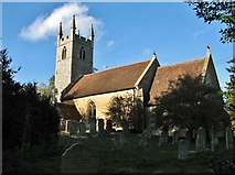 TG2202 : The church of St Remigius at Dunston by Evelyn Simak