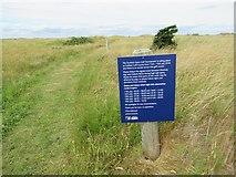 NT4681 : Diversion notice by Richard Webb