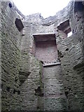SO5074 : Inside Ludlow Castle (Mortimer's Tower) by Fabian Musto