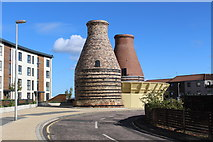 NT3074 : Pottery Kilns, Bridge Street, Portobello by Graeme Yuill