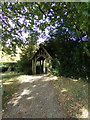 TL8729 : Lych Gate of St. Andrew's Church by Adrian Cable